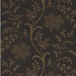 Little Greene London Wallpapers II Bedford Square Ebony Gold (77)