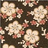 Little Greene Oriental Wallpaper Blossom Orange Blossom (147)