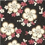 Little Greene Oriental Wallpaper Blossom Pink Blossom (145)