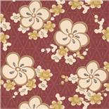 Little Greene Oriental Wallpaper Blossom Yellow Blossom (148)