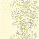 Little Greene 1950s Wallpaper Bouquet Summer (178)