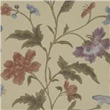 Little Greene Oriental Wallpaper China Rose Bronze (137)