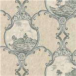 Little Greene London Wallpapers III Crooms Hill Breccia (97) - Archiefkleur