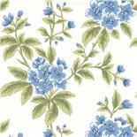 Little Greene London Wallpapers III Grosvenor Street Cornflower (110)