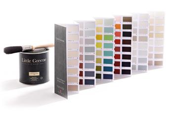 gratis little greene kleurenkaart aanvragen. Black Bedroom Furniture Sets. Home Design Ideas