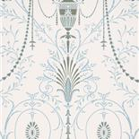 Little Greene London Wallpapers II Marlborough Crystal (90) - Archiefkleur