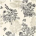 Little Greene 1950s Wallpaper Norcombe Couture (167)