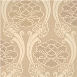 Little Greene Oriental Wallpaper Peony Oyster (156)