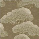Little Greene Oriental Wallpaper Pines Golden Pine (133) - Archiefkleur