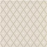Little Greene 1950s Wallpaper Quilt Haar (185) - Archiefkleur