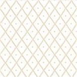 Little Greene 1950s Wallpaper Quilt Knot (186)