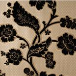 Little Greene London Wallpapers Soho Square Black Flock (24)