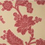 Little Greene London Wallpapers Soho Square Bronze Red (28) - Archiefkleur