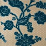 Little Greene London Wallpapers Soho Square Marine Flock (26)