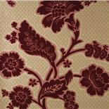 Little Greene London Wallpapers Soho Square Red Flock (25)