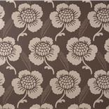 Little Greene London Wallpapers St. James's Place Chocolate (8) - Archiefkleur