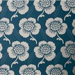 Little Greene London Wallpapers St. James's Place Deep Blue (12)