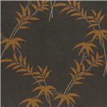 Little Greene Oriental Wallpaper Trellis Bamboo Copper (126)