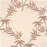 Little Greene Oriental Wallpaper Trellis Bamboo Spice (129)